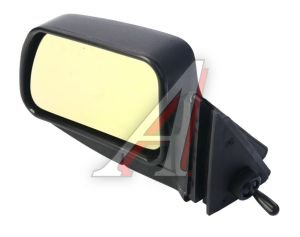 Зеркало боковое ВАЗ-2105 левое антиблик желтое Политех-Р-5рта/СПл, 2105-8201050