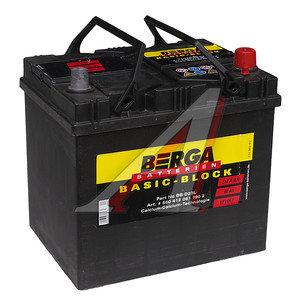 Аккумулятор BERGA Basicblock 60А/ч обратная полярность 6СТ60 BB-D23L, 560 412 051 7902