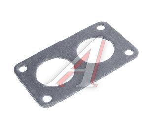 Прокладка карбюратора К126,135 нижняя металлоасбестовая 408-1107015