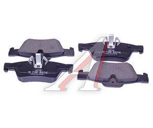 Колодки тормозные MERCEDES ML (W164) задние (4шт.) SANGSIN SP2190, GDB1643