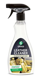 Очиститель кожи кондиционер триггер 500мл Leather Cleaner GRASS GRASS, 131105