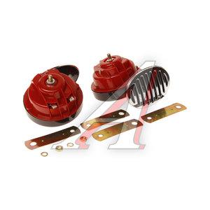 Сигнал звуковой Electric 12/24V,8A 410/510Hz 115дБ 90мм комплект 2шт. AVS 43311, AVS-2004