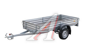 Прицеп легковой МЗСА-817701 без тента и каркаса, рессорная подвеска 817701.001-05,