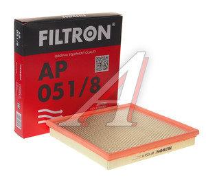 Фильтр воздушный CHEVROLET Cruze OPEL Astra J (1.4/1.6) FILTRON AP051/8, LX2882, 0835056