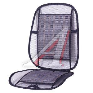 Накидка на сиденье массажная сетка-бамбук 1шт. черная PSV 114798, 93A Black
