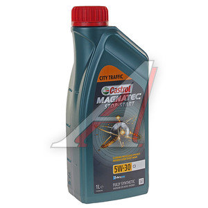Масло моторное MAGNATEC STOP START C3 синт.1л CASTROL CASTROL SAE5W30, 1572FA