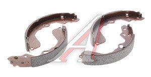 Колодки тормозные KIA Carens (99-06),Clarus (95-00) задние барабанные (4шт.) HSB HS1007, GS8694, 0K2FA-2638Z