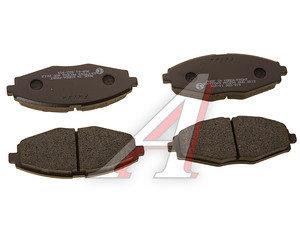 Колодки тормозные DAEWOO Nexia 16V,Matiz (98-) CHEVROLET Lanos передние (4шт.) HANKOOK FRIXA FPD09, GDB3195, 96316582