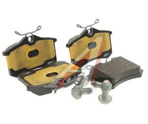 Колодки тормозные VW AUDI SEAT SKODA задние (4шт.) эконом OE JZW698451, GDB1330, 1K0698451J/3B0698451A/4B0698451E/8E0698451K/JZW698