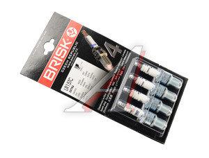 Свеча зажигания ВАЗ-2108-09 АИ-92 BRISK LR15TC EXTRA комплект LR15TC, 2108-3707010