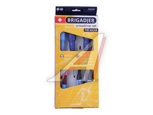 Набор отверток 6 предметов HD EXCELL BRIGADIER 39004