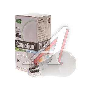 Лампа светодиодная E27 A60 11W (90W) холодный CAMELION Camelion LED11-A60/845/E27, 12036